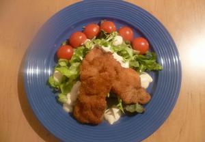 Kuřecí salát s hořčicovým dresinkem