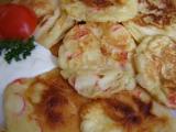 Lívanečky s krabími tyčinkami a sýrem recept