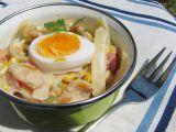 Těstovinový kuřecí salát s jogurtem recept