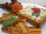 Mrkvové řízečky, toast s dipem a pečené rajčátko recept ...