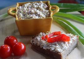 Vaječná pomazánka s opečenou slaninkou recept