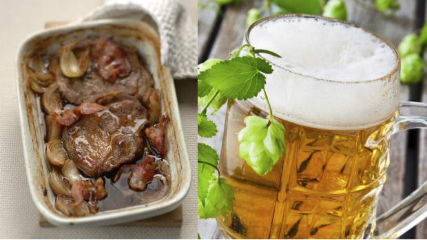 Krkovice na pivu