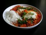 Shakshuka (rajčatová omáčka s vejci) recept