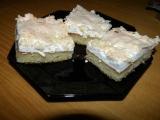 Sněhový koláč recept
