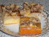 Hruškový koláč z drobenky recept