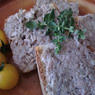Sardinková pomazánka se sušeným oreganem recept