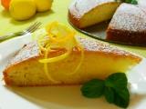 Citronovy kolac s pomerancovym prelivem recept