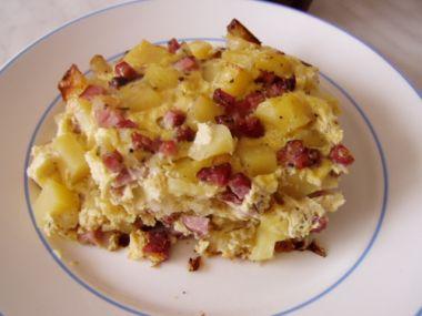 Recept Francouzské brambory s uzeným