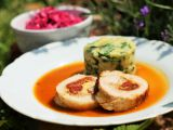 Vepřová roláda se sušenými rajčaty a mozzarellou recept ...