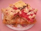 Kynutý litý koláč s ovocem recept