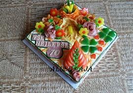 Slaný dort  70 recept
