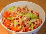 Zeleninový salát s tuňákem a parmazánem recept