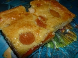 Meruňkový litý koláč recept