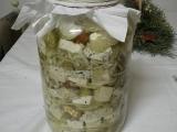 Nakládaná směs sýrů podle Wooddyho recept