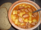 Bramborový guláš II. recept