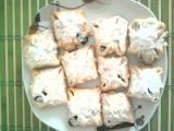Vázané koláčky s marmeládou a drobenkou recept