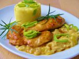 Glazované kuřecí s pórkovou omáčkou recept