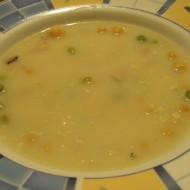 Kari polévka s cizrnou recept