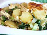 Tofu zapékané s pórkem recept
