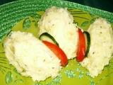 Bramborová kaše s cibulí recept