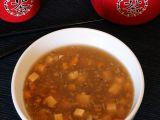 Čínská pikantní polévka s tofu recept