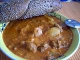 Sójový segedínský guláš recept