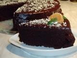 Čokoládový pivní dort recept