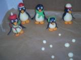 Tučňáci na dort recept