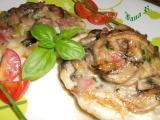 Hermelín pečený s houbami recept