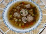 Telecí polévka s masovými knedlíčky recept