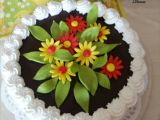 Mandarinkový dortík se šlehačkovým krémem recept