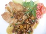 Kuřecí steak na rozmarýnu s liškami recept