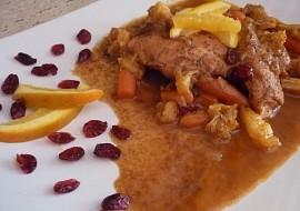 Marinovaná kuřecí prsíčka na pomeranči recept