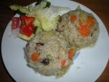 Dušená zelenina s rýží recept