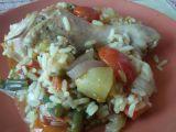 Kuřecí paella recept