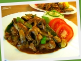 Kuřecí játra s protlakem a zeleninou recept