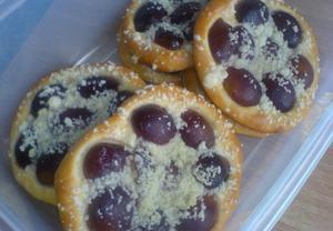 Kulaté švestkové koláče