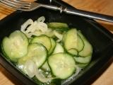 Čínský okurkový salát recept