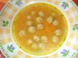Mrkvová polévka s drožďovými knedlíčky recept