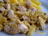 Kuřecí nudličky s kapustou recept