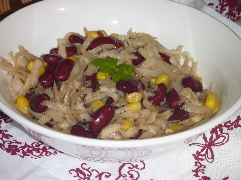 Salát z černé ředkve recept