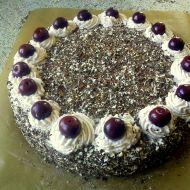 Schwarzwaldský dort s višněmi recept