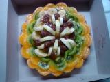 Třepací dort s ovocem recept