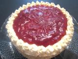Švestkový dort s makovým piškotem recept