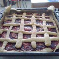 Rychlý mřížkový koláč s marmeládou recept