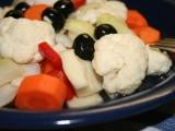 Křupavá zelenina nakládaná v mořské soli recept
