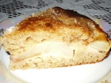 Hruškový koláč s vínem recept