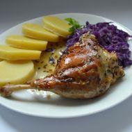 Pomalu pečená kachna recept