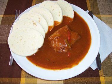Recept Cikánská hovězí pečeně