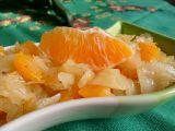Zelný salát s pomerančem recept